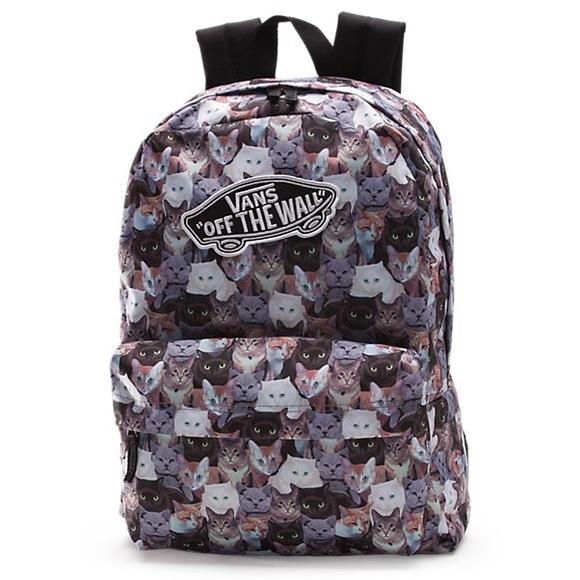 1ef2c81983 RARE ASPCA Vans Cat Backpack. M 5b9955aef63eea3ebcb6dbaa